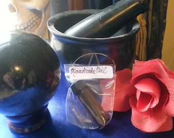 Witch's OILS of Baneful Herbs (magick Pagan Wiccan witch witchcraft enchantment spells hexes witch's flying ointment)