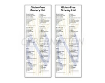 Gluten Free Printable Grocery Shopping List