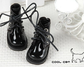 15-11。Blythe Pullip Shoes.Shiny Black