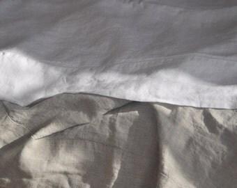 Charcoal U.S. King 4pc 100% linen bedding set