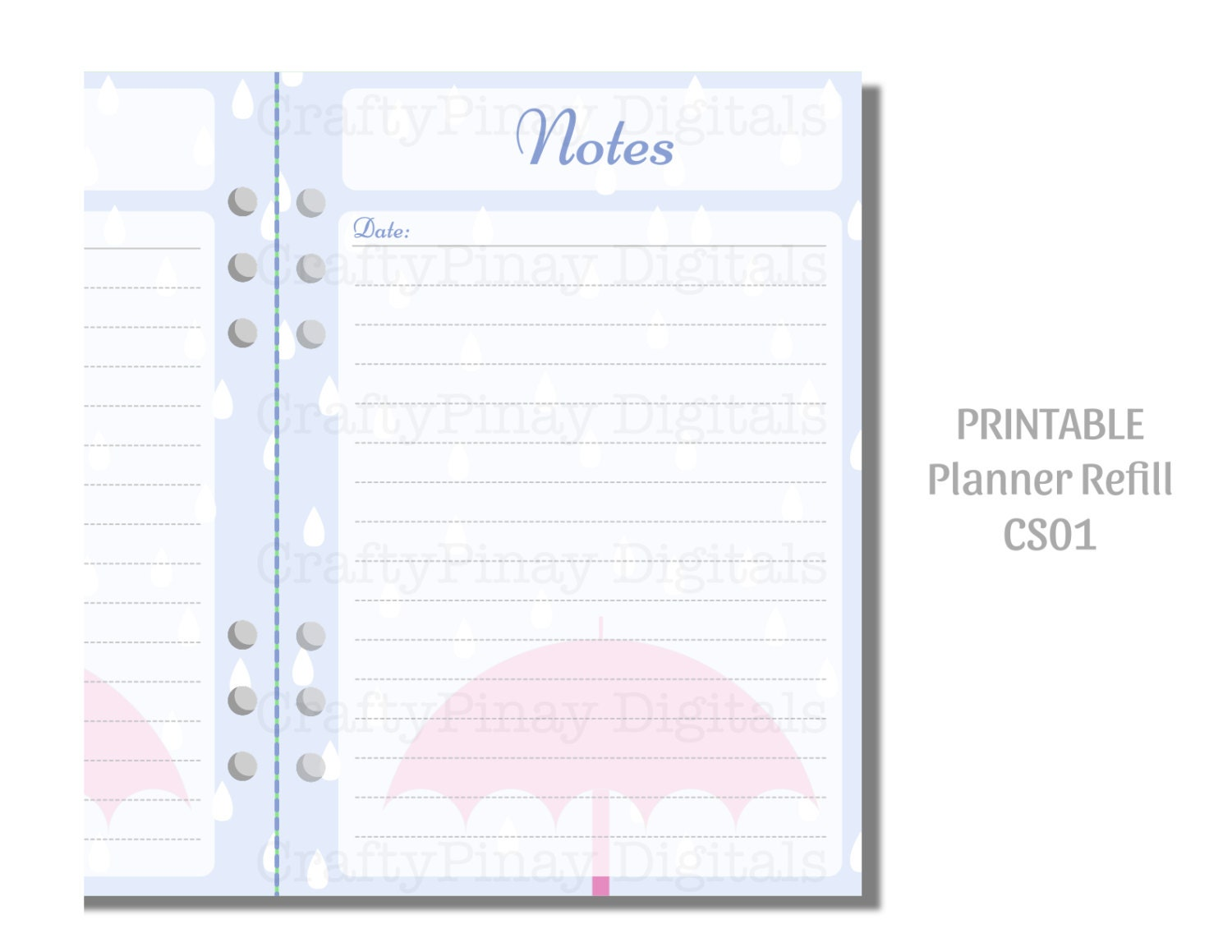 Playful image pertaining to free planner refills printable