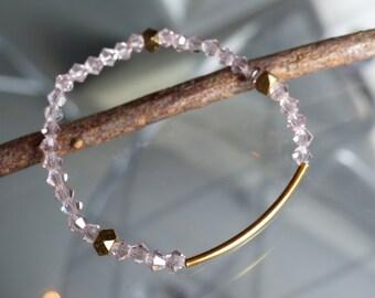 ILI PIKA pale pink bracelet