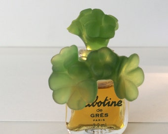 "Perfume mini ""Cabotine"" by Gres 3.2 ml. 1990"