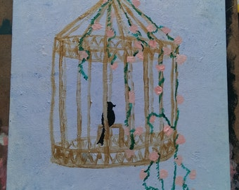 Birdcage Painting