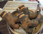 Primitive Halloween Witch Boots/Shoes/Grungy/Shelf Sitters/Bowl Fillers
