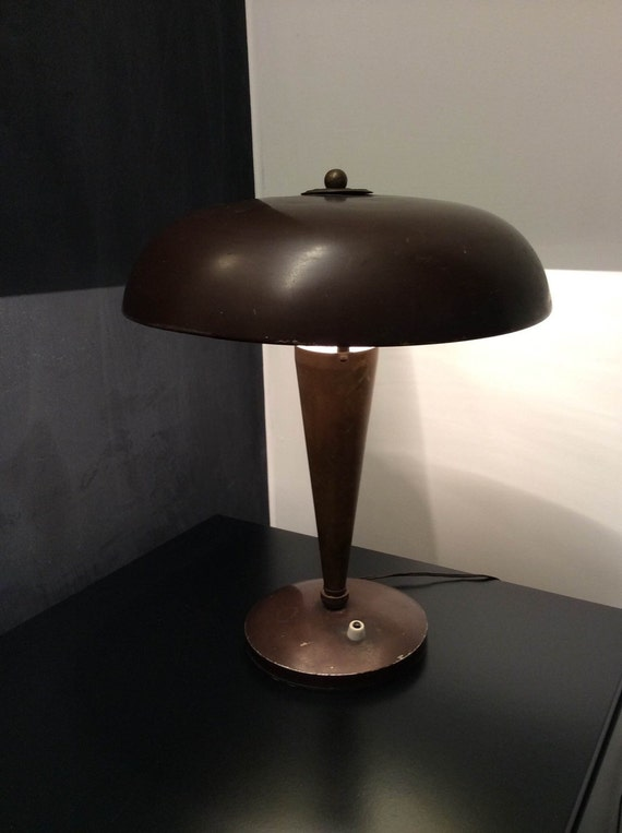 Lampada Tavolo Vintage Dagli Anni 39 40