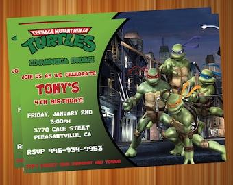 Turtles Invite!