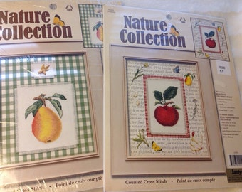 "Counted Cross Stitch ""Nature Collection "" by Janlynn"