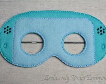 Little Robot Children's Mask  - Costume - Theater - Dress Up - Halloween - Face Mask - Pretend Play - Party Favor