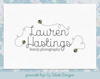 Premade Logo - photography logo | bee logo