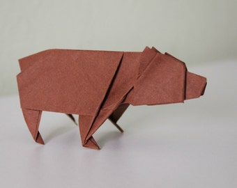 Bear - Origami