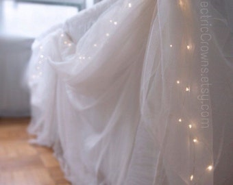 Wedding Table Decorations, Table Lights, Table Decor, Head Table Lighting,  12ft String