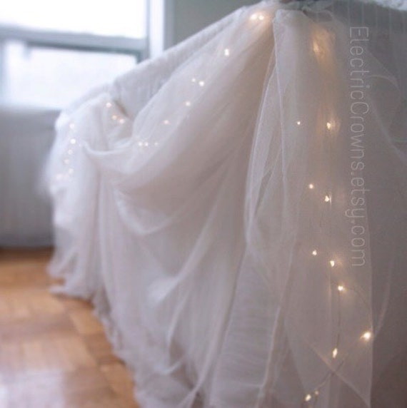 Winter decor string lights indoor fairy lights by - Decorating with string lights indoors ...