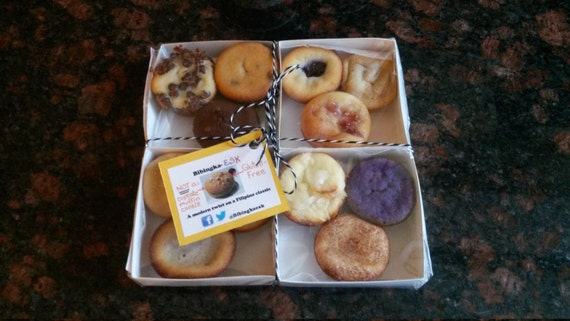 Bibingka Bibites Box (all 12 flavors of bibingka) Gluten-Free