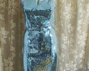1970's Sequin dress