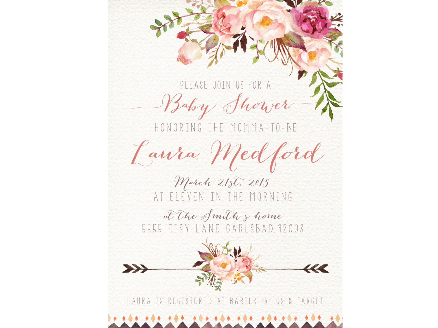 Where can i buy baby shower invitations baby shower for Where can i buy party invitations