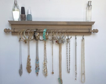 Jewelry Organizer - Jewelry Organizer Hanging - Jewelry Organizer Wall - Jewelry Box