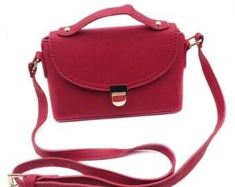 Red lovely mini handbags
