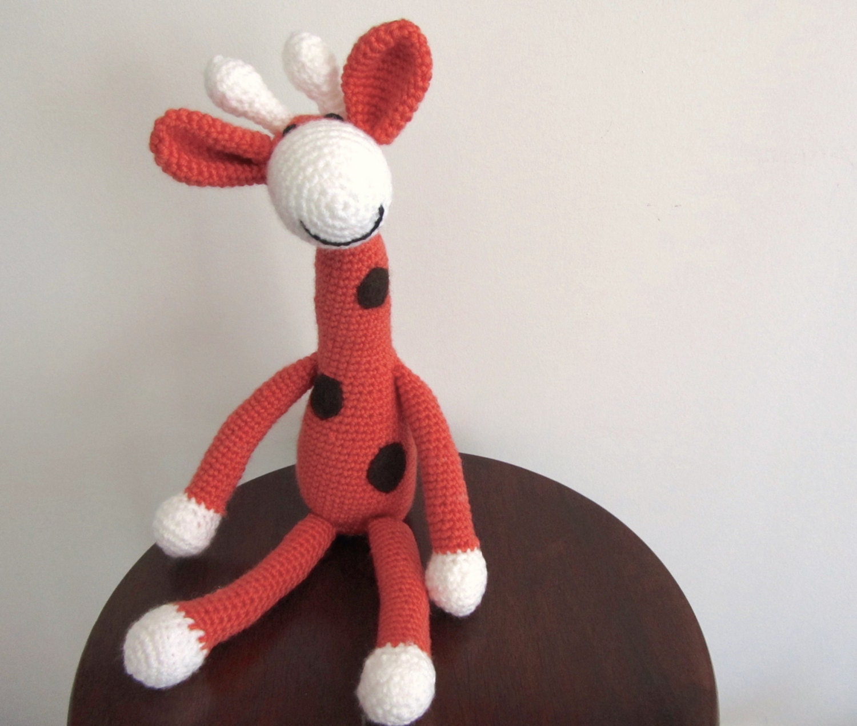 Crochet Giraffe Giraffe amigurumi Giraffe toy by ...