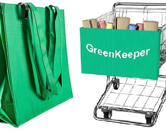 Hook Up with a GreenKeeper: Going Green is Easy!   Save the Planet - Hang one on a cart - Save the Earth - Give the Perfect Gift