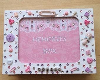 birthday Baby shower new mum baby memories box