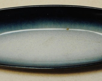 """Ceramic fish plate 12 3/4' x 3 7/8"""". Marked, not authenticated"""
