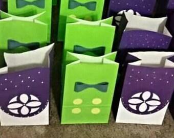 Sofia the First favor bag, goodie bag, Princess Sofia Goodie Bags, Sofia the First Candy bag, Sofia the First, party favor bag
