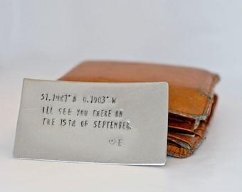 Metal Wallet Card