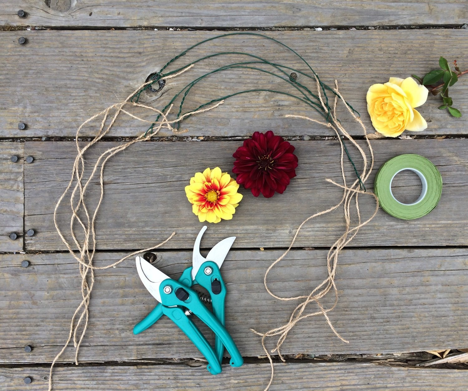 Flower Crown Kit DIY Just Add Fresh Flowers