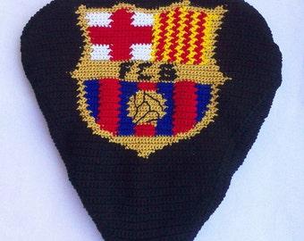 FC Barcelona bike seat cover