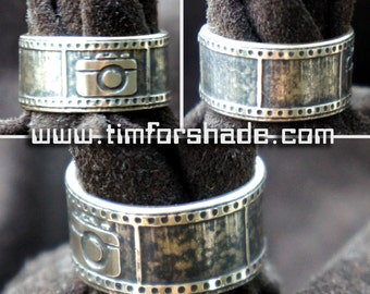 Rings of photographer brass adjustable ring