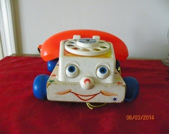 Vintage Fisher Price Chatterbox Telephone
