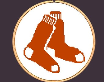 Boston Red Sox Cross Stitch Pattern: Buy 2 Patterns Get 1 FREE!!