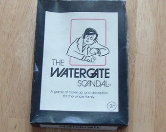 The Watergate Scandal Card Game from 1973