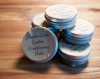 Handmade Leather Balm/ Leather Conditioner