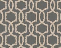 Pewter Fabric, Gray designer fabric, Sunbrella fabric, gray upholstery fabric