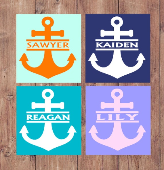 nautical decor personalized custom colors digital download jpeg