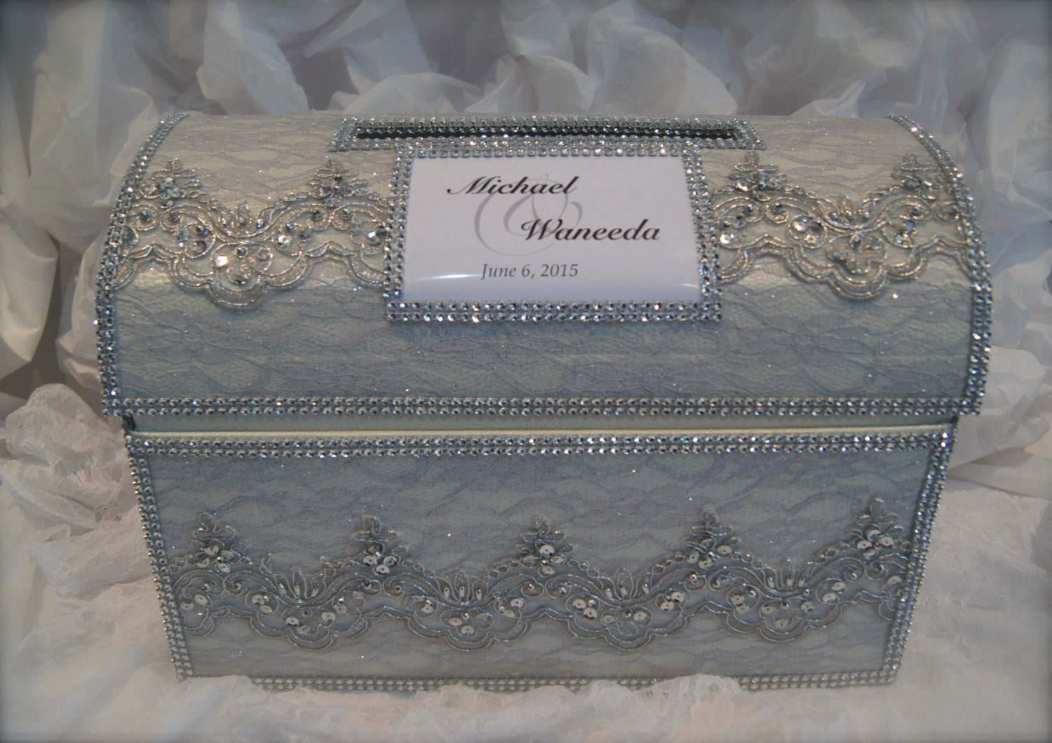 treasure chest card boxwedding money boxpersonalized card – Wedding Treasure Chest Card Box