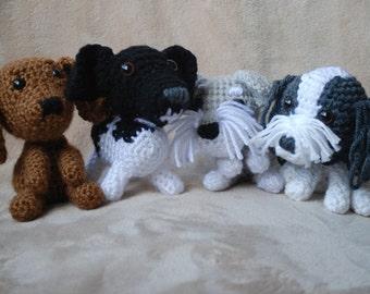 Custom Crocheted Dogs, Custom Amigurumi Dogs Crochet Dog