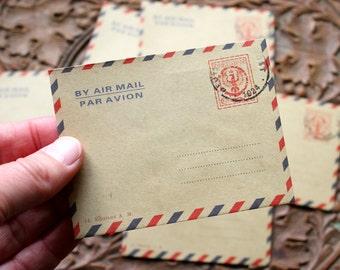 10 Mini Kraft Envelopes, Gift card envelopes, Scrapbooking/ Wedding Wishes, Invite envelopes