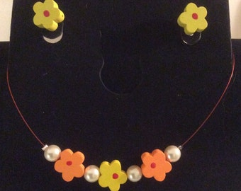 BALANCE - All orange and yellow flowers for girls