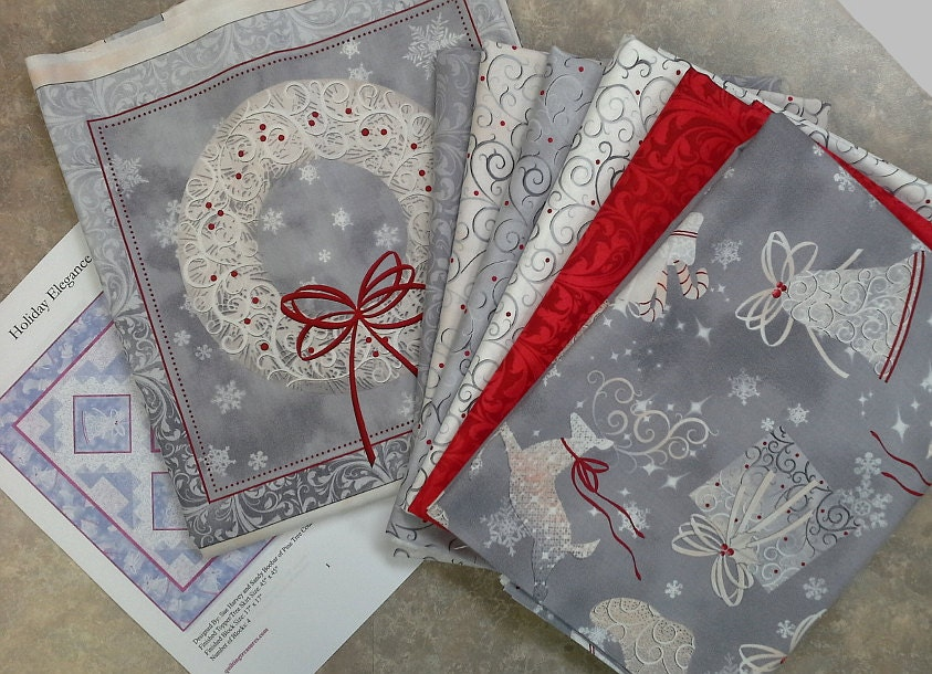 Holiday Elegance Quilt Kit 45x45