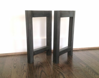 Metal Bench Legs - **FREE SHIPPING** - Steel Bench Legs