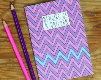 Memoirs of a Unicorn Notebook