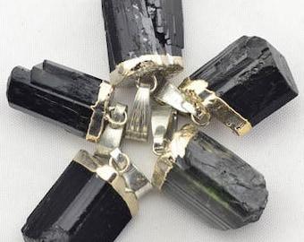 HEALING, Reiki, Meditation, Spiritual Jewelry, Tourmaline Pendant