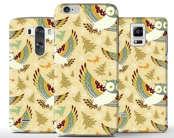 Owl Owls Flying Fly Cute Night Hard Case Cover Apple iPhone 5 5s 5c 6 Plus Samsung Galaxy S6 s4 s5 Note 3 4 Sony Xperia Z3 Z1 Z2 Lg G2 G3