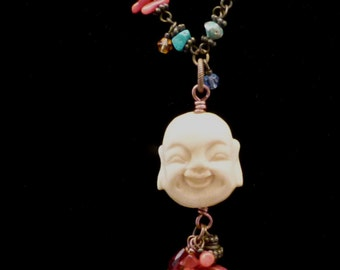 Smiling Buddha Necklace N0087