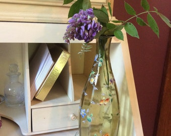 Wonderful old painted vase