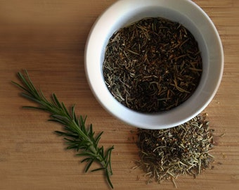 Rosemary Mint Orange Herbal Blended Loose Leaf Tea