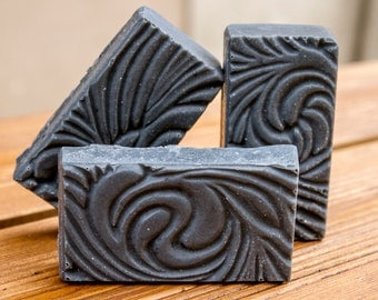 Handmade Soap Charcoal, All natural soap, Vegan soap, Homemade soap, Palm free soap, Scented soap, Cold Process Soap